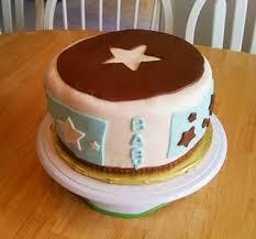 baby bee bakery rock star baby shower cake