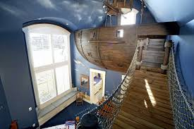 Pirate Themed Kids Room by If It U0027s Hip It U0027s Here Archives Pirate Ship Room Climbing Cave