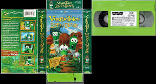 veggie tales diva veggietales lord of the beans vhs cover and tape by robowil on