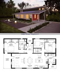typical house layout deltec homes renew collection