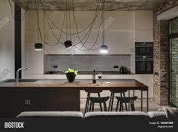 jeffrey kitchen islands delectable industrial loft space in santa california kitchen
