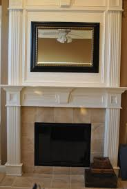 decorating ideas handsome fireplace decoration with rectangular