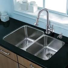 40 Inch Kitchen Sink Vigo 32 Inch Undermount 60 40 Bowl 18 Stainless Steel