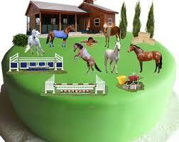 pony cake pony cake topper etsy