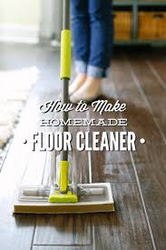 How To Buff Laminate Wood Floors How To Make Homemade Floor Cleaner Vinegar Based Live Simply