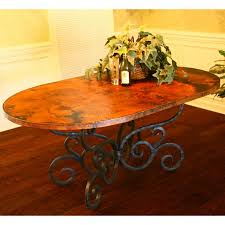Copper Top Dining Room Tables 58 Best Mesas Images On Pinterest Mosaic Ideas Mosaic Tables