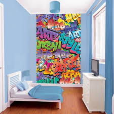 graffiti wallpaper for bedrooms rooms to go king size bedroom