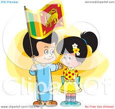 Sri Lanka Flag Lion Lanka Clipart Clipground