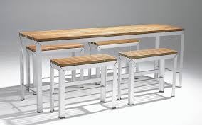 bar height patio table plans elegant bar height outdoor dining table high tables pertaining to