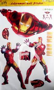 jual iron man stiker dinding wall sticker farisha iron man stiker dinding wall sticker