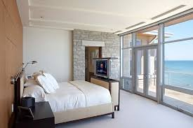 Bed Frame With Tv In Footboard Bed With Tv In Footboard Bedroom Contemporary With Master Bedroom