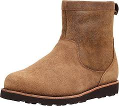 buy s boots size 11 ugg hendren tl waterproof bomber jacket chestnut suede boots mens