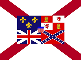 image alabama state flag st cross concept with
