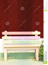 Background With Chair Colorful Chair With Beautiful Background Stock Photo Image 20708716