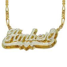 baby name plate necklace fingerhut necklaces pendants