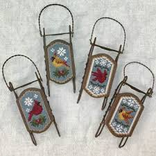 ornaments cross stitch patterns kits 123stitch