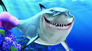 smiling shark finding nemo u0027s bruce nerdist