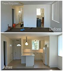 Kitchen Remodel Before And After by Condo Rental Renovation 4men1lady Com Diy Home Improvement