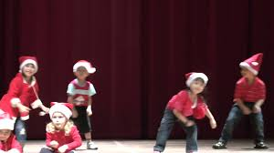 jingle bells christmas dance song in chomel u0027s preschool concert