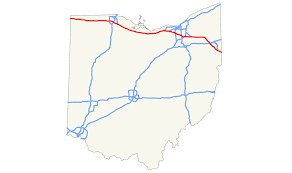 Road Map Of Ohio by Ohio Turnpike Wikipedia