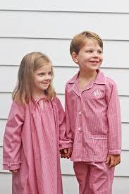 the pink giraffe monogrammed children s pajamas