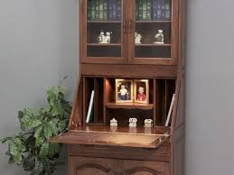 secretary desk with hutch home design ideas