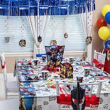 transformers party decorations transformers party table idea decorating ideas transformers