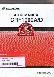 oem honda workshop manual crf1000a d 2016 u003e rugged roads