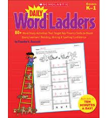 daily word ladders grades k u20131 by timothy v rasinski