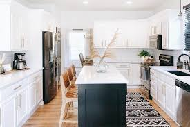 corner cabinet kitchen rug the right rug size for your kitchen ruggable