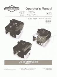 briggs u0026 stratton engine manual