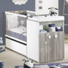 sauthon chambre hugo tiroir de lit combiné évolutif blanc de sauthon baby s