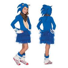 Hedgehog Halloween Costume Girls Sonic Hedgehog Sonic Boom Halloween Costume