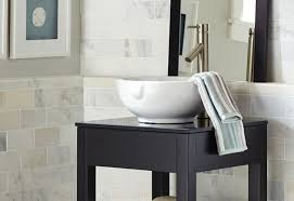 Glass Top Vanity Bathroom by Guide To Choosing Bathroom Countertops And Vanity Tops From The