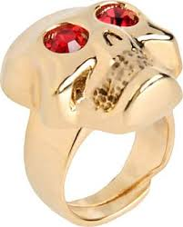 red jewelry rings images Moschino jewelry sale up to 60 stylight jpg