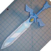 Master Sword Papercraft - master sword papercraft museum