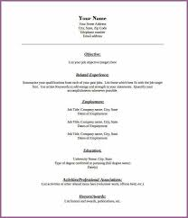 Free Fill In Resume Template Free Blank Resume Templates 40 Blank Resume Templates U2013 Free