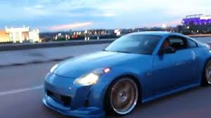 custom nissan 350z stanced nissan 350z w custom vinyl youtube