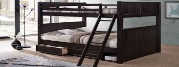 Just Bunk Beds Affordable Wood  Metal Bunk Beds For Sale - Queen bed with bunk over