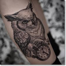 owl tattoo meaning protection 75 brilliant pocket watch tattoo designs ever made