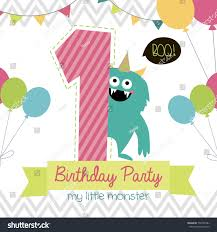 many stock birthday party invitation card vector creation birthday party invitation card vector stock vector