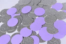 lavender baby shower decorations purple and silver confetti lavender and silver party decorations