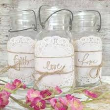 Rustic Mason Jar Centerpieces For Weddings by Mason Jar Centerpiece Idea Use Different Colored Stones Candles
