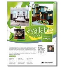 one sided brochure template easy to customize available now real estate brochure real
