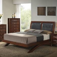 roundhill furniture emily 111 wood arch leg bed queen merlot
