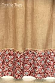 Grommet Burlap Curtains How To Make No Sew Curtains With Grommets Centerfordemocracy Org
