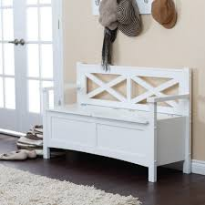 Black Entryway Bench Living Room Great Modern Storage Bench With Back Home Decor