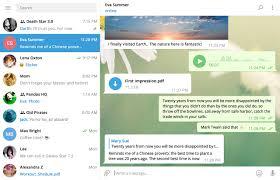 Telegram Web Telegram Updates Desktop App With New Look