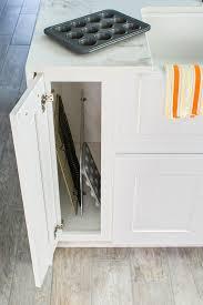 kitchen cabinet tray dividers tray divider in thomasville cabinet kitchen pinterest