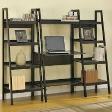 Desk And Bookshelves by Furniture Floor Lamp With Exciting Ladder Bookshelves With Desk